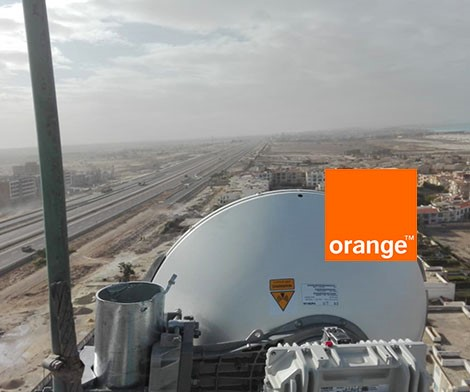 Orange Microwave sites